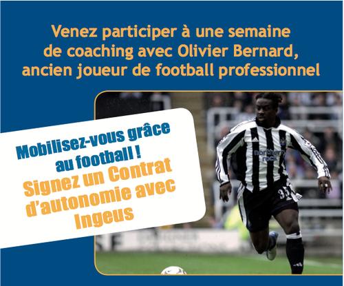 Une semaine de coaching avec Olivier Bernard et Ingeus